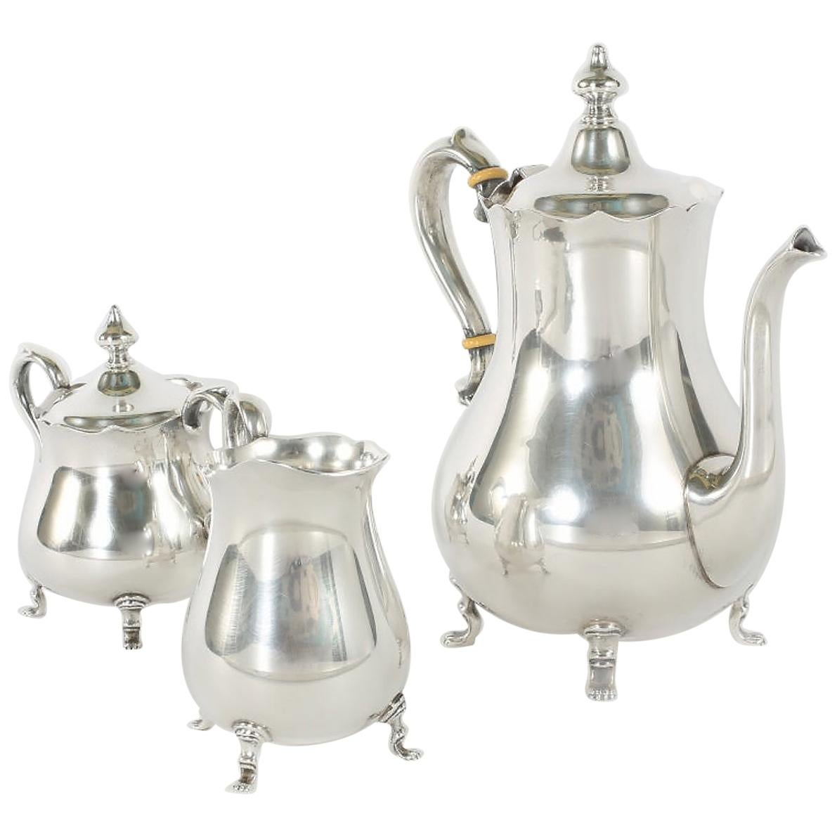 Cartier Sterling Silver Tea / Coffee Service