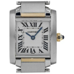 Cartier Tank 2300, Case, Certified and Warranty