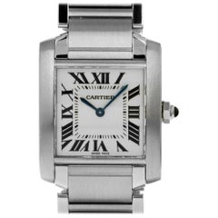 Cartier Tank 2301, Case, Certified and Warranty