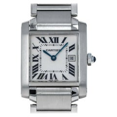 Cartier Tank 2465, Case, Certified and Warranty