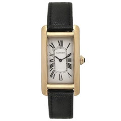 Cartier Tank Americaine 1720; Silver Dial, Certified and Warranty