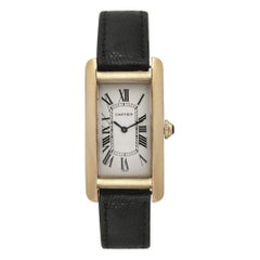 Cartier Tank Americaine 1720, Silver Dial, Certified and Warranty