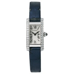 Cartier Tank Americaine 2544, Silver Dial, Certified and Warranty