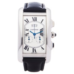 Cartier Tank Americaine 2569 Unisex White Gold 0 Watch