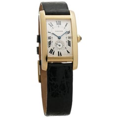 Cartier Tank Americaine 8012905, White Dial, Certified