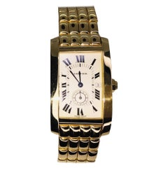 Cartier Tank Americaine 8012905, Case, Certified and Warranty