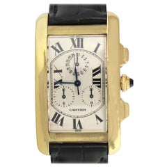 Cartier Tank Americaine Chronograph Watch