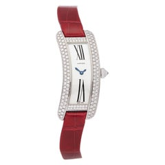 Cartier Tank Americaine Curved Tank S Diamond White Gold WJ300950 or 2625