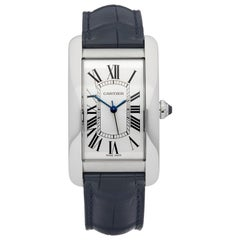 Cartier Tank Americaine Stainless Steel WSTA0018 or 3972