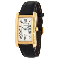 Cartier Tank Americaine W2603156, Case, Certified and Warranty