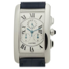 Cartier Tank Americaine W2603356, Silver Dial