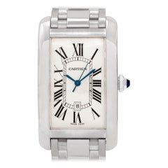 Cartier Tank Americaine W2605511, White Dial, Certified