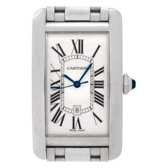 Cartier Tank Americaine  W2605511, Case, Certified and Warranty
