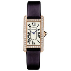 Cartier Tank Americaine WJTA0002, Off-White Dial, Certified and Warranty