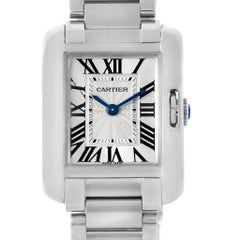 Cartier Tank Anglaise Small Steel Ladies Watch W5310022