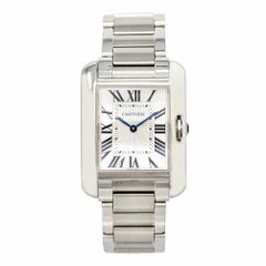 Cartier Tank Anglaise4554, Dial Certified Authentic