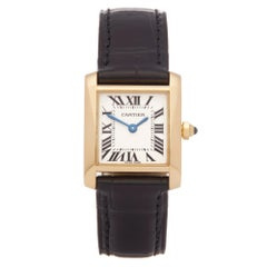 Cartier Tank Francaise 18 Karat Yellow Gold 2385
