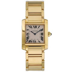 Cartier Tank Francaise 1821 Midsize Ladies Watch