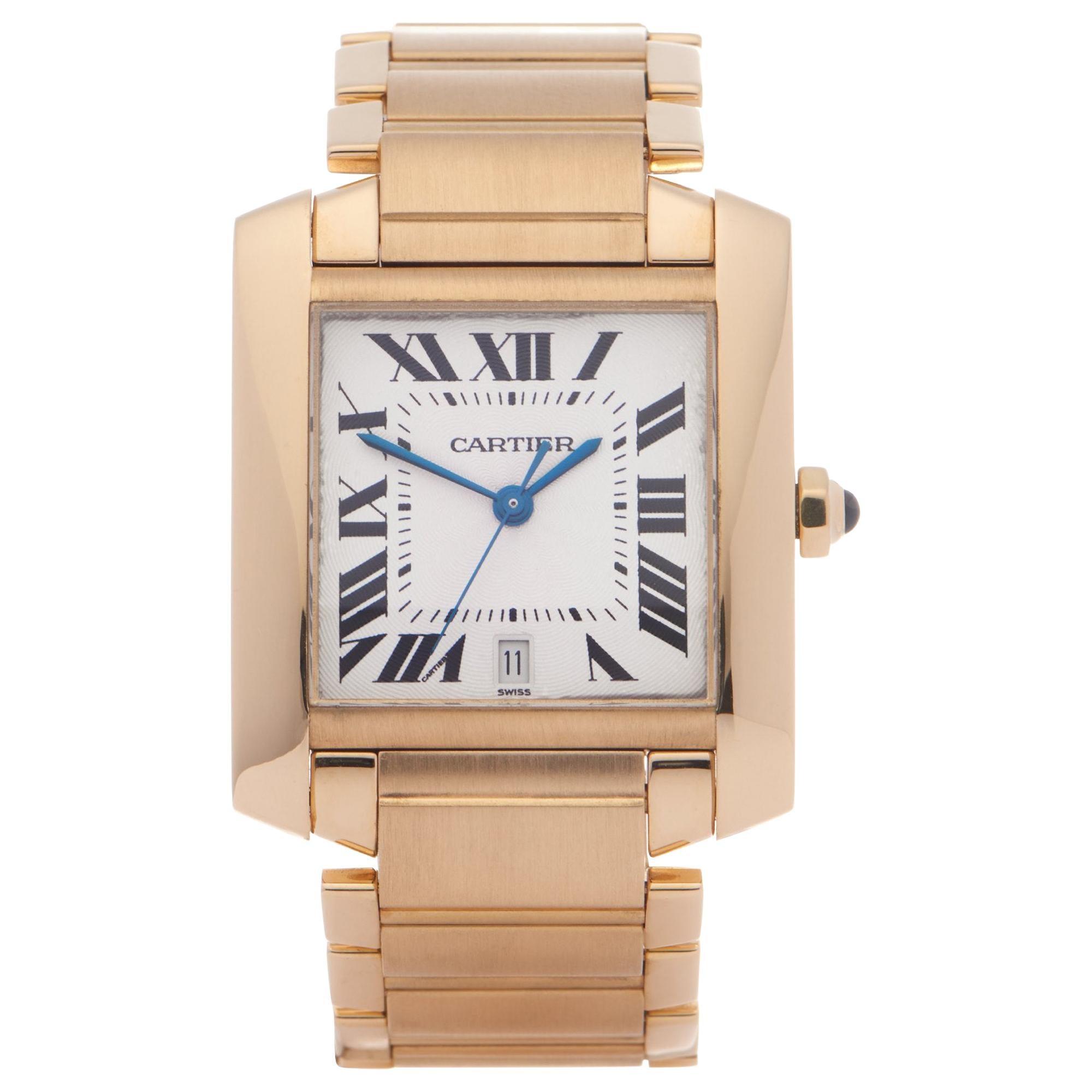 Cartier Tank Francaise 1840 Men Yellow Gold 0 Watch