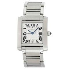 Cartier Tank Francaise 2302 Men's Watch