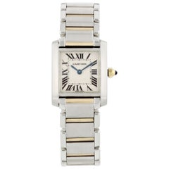 Cartier Tank Francaise 2384 Two-Tone Small Ladies Watch