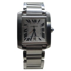 Cartier Tank Francaise Automatic Steel Wristwatch