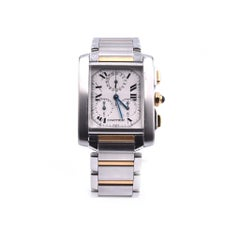 Cartier Tank Francaise Chronoflex Two-Tone Watch Ref. 2303