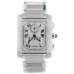 Cartier Tank Francaise Chronograph 2303 Men's Watch