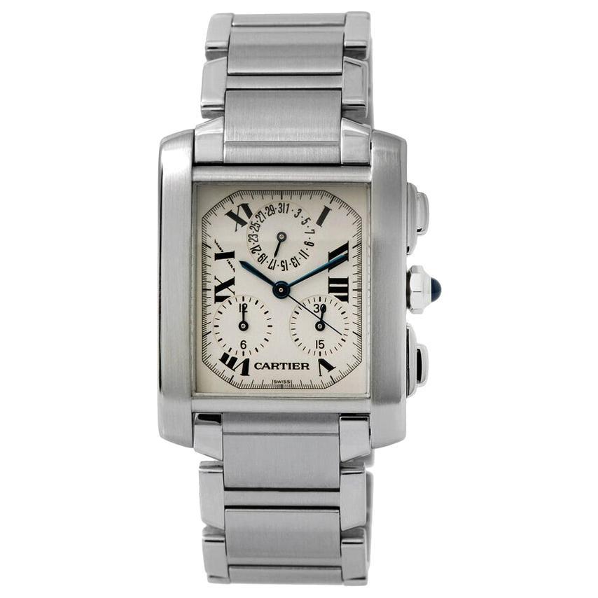 Cartier Tank Francaise Chronograph Men's Watch 2303