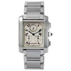 Cartier Tank Francaise Chronograph Men's Watch 2303