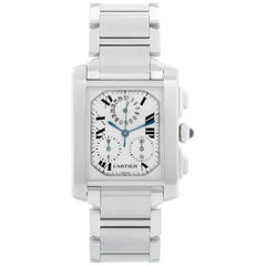 Cartier Tank Francaise Chronograph Men's Watch W51001Q3