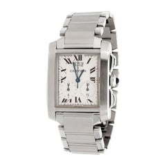 Cartier Tank Francaise Chronograph Watch 2653