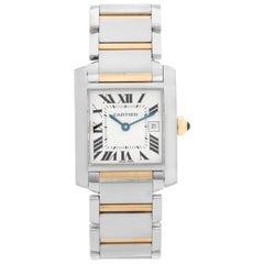 Cartier Tank Francaise Men's 2-Tone Watch W51005Q4