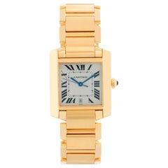 Cartier Tank Francaise Men's Automatic Watch