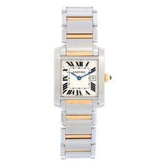 Cartier Tank Francaise Midsize 2-Tone Watch W51005Q4 2465