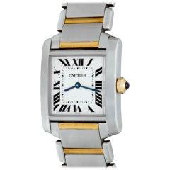 Cartier Tank Française Model W1006Q4 Watch