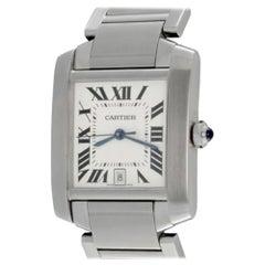 Cartier Tank Française Model W51002Q3 Watch