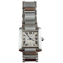 Cartier Tank Francaise Stainless Steel 2302 Watch