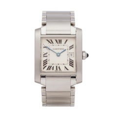 Cartier Tank Francaise Stainless Steel W51011Q3