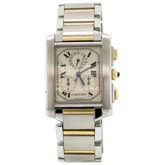 Cartier Tank Francaise Two-Tone Chronoflex Watch 2303