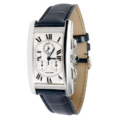 Cartier Tank Francaise W2603358, Silver Dial, Certified