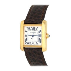 Cartier Tank Francaise W5000156, Silver Dial, Certified