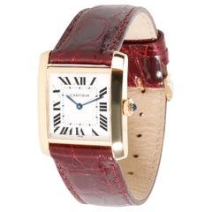 Cartier Tank Francaise W5000356 Women's Watch in 18 Karat Yellow Gold