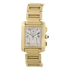 Cartier Tank Francaise W50005R2 Chronograph Men's Watch