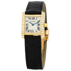 Cartier Tank Francaise WE100131, Silver Dial, Certified and Warranty