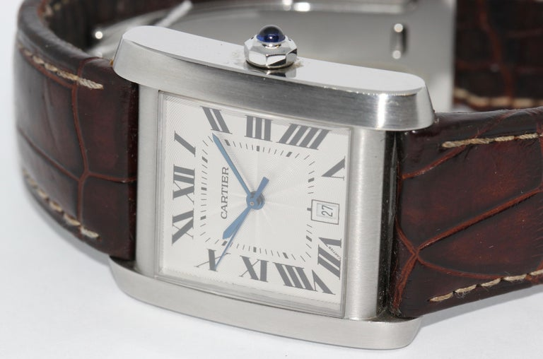 Strap and folding clasp original Cartier!  Including certificate of authenticity.