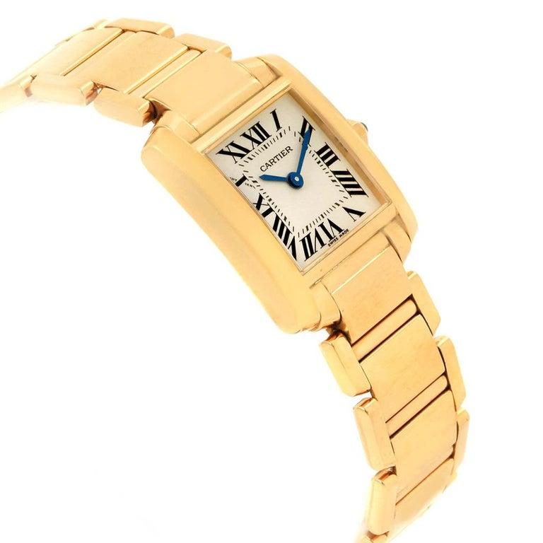 e481d3d6db5de Women s Cartier Tank Francaise Yellow Gold Quartz Ladies Watch W50002N2 For  Sale
