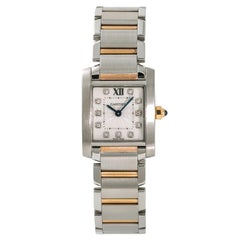 Cartier Tank Francaise5520, Dial Certified Authentic