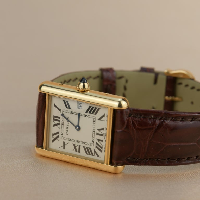 Cartier Tank Louis Cartier Large Model W1529756 with Box and Paper 1