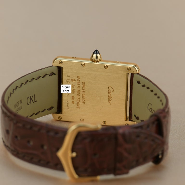 Cartier Tank Louis Cartier Large Model W1529756 with Box and Paper 3